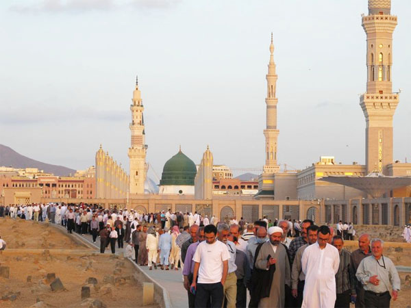 Medina pilgrimage