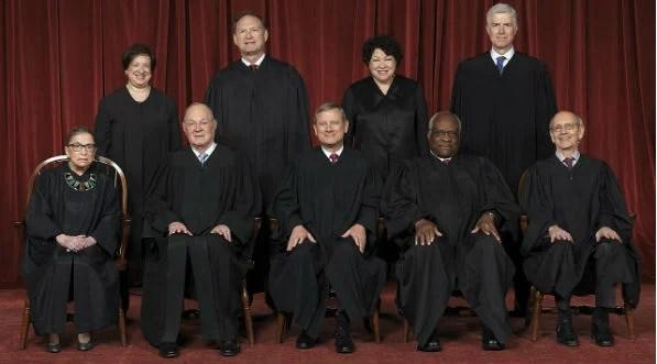 U.S. Supreme Court in 2017 (Wikipedia)