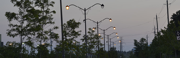 street light out waterloo north hydro