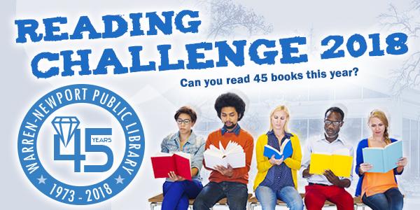 Reading Challenge 45 Challenge