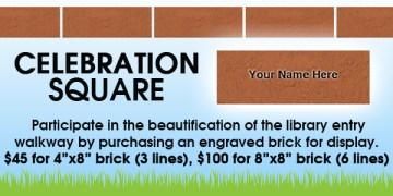Celebration Square, pavers, bricks, fundraising