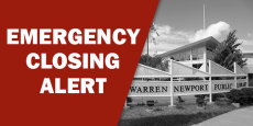 emergency closing alert