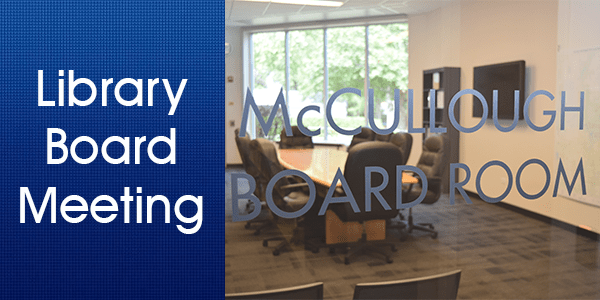 Library Board, board meeting,