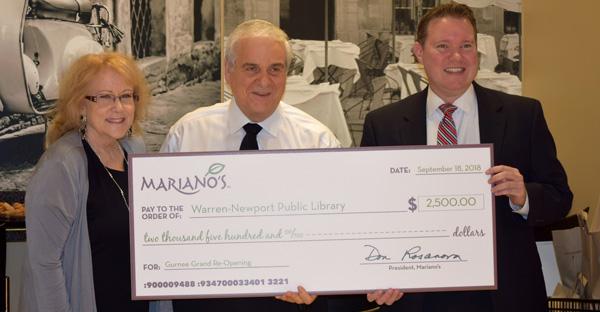 marianos, fundraising