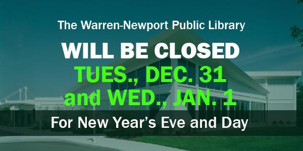 New Year, holidays closings, holidays