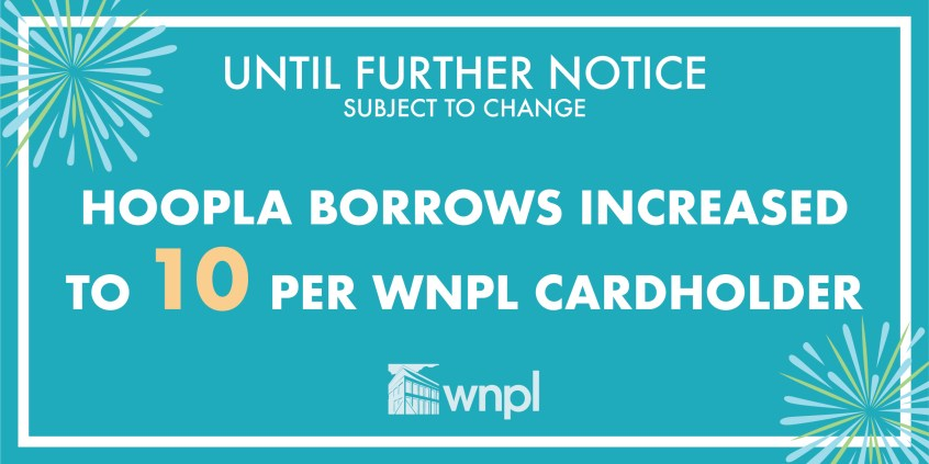hoopla borrows, hoopla, digital resources