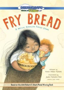 Fry Bread, mother holds baby eating bread