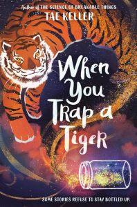 Tiger genie out a jar