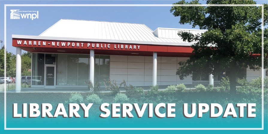 Library Service Update, photo of WNPL building