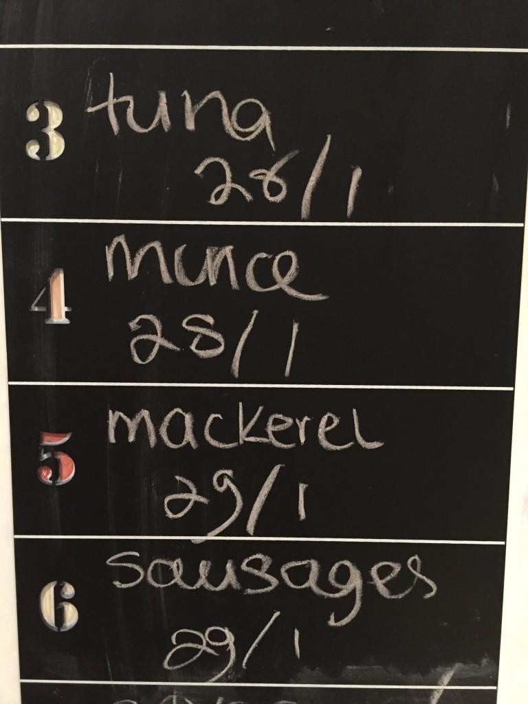 Reduce Food Waste Blackboard