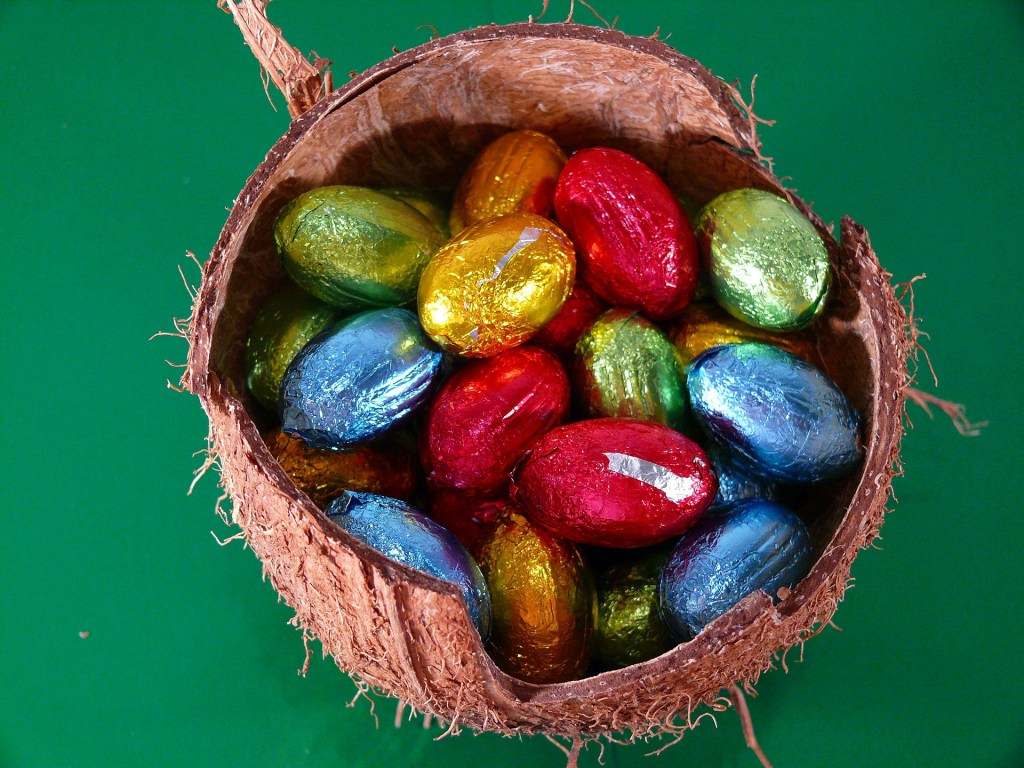 low waste easter eggs