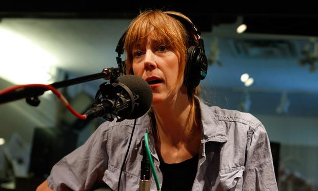 Beth Orton performs in the Soundcheck studio.