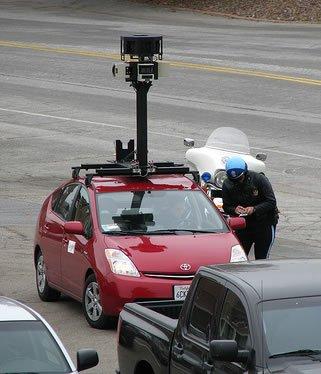 Street view vehicle
