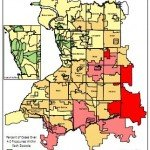 Erie County Radon Map - 2010
