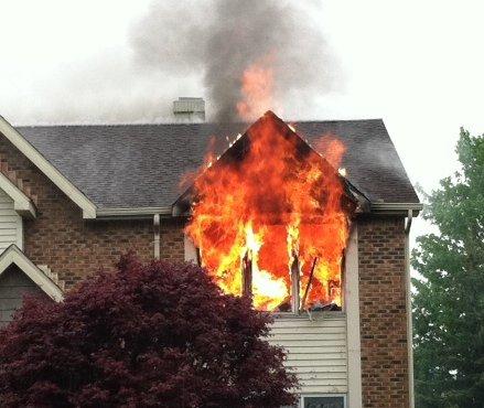 Lancaster House Fire