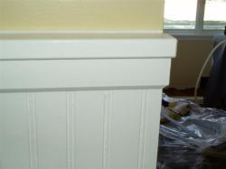 chair rail molding - custom and simple