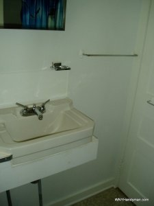Small wall mount sink