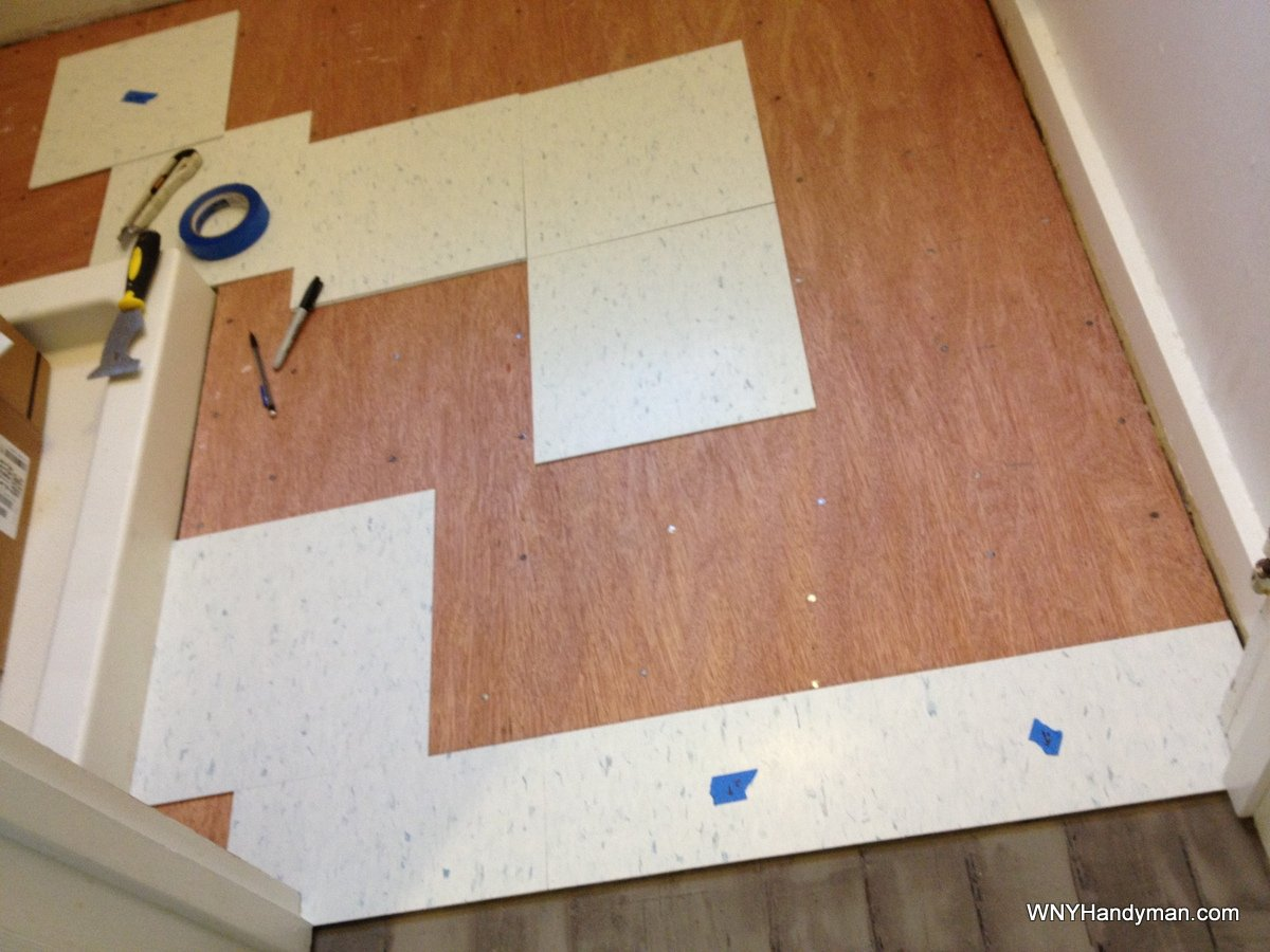 Installing vct tile six things they dont tell you wny handyman installing vct tile six things they dont tell you ppazfo