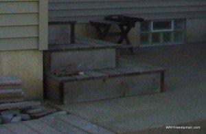 Box style steps - Western Red Cedar