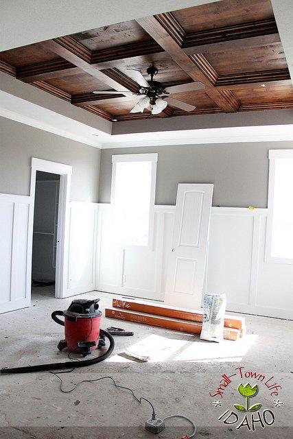 wood ceiling plans