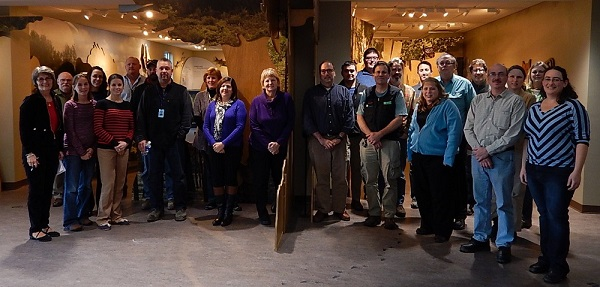 WNY PRISM 2014 Winter Full Partnership Meeting held at Iroquois National Wildlife Refuge Visitor Center