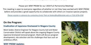 WNY PRISM's Fall Partner Meeting