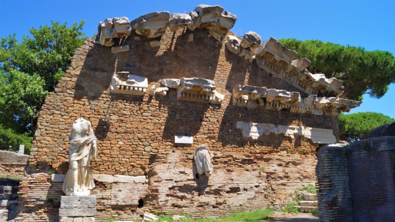 historische Ruinen bei Rom