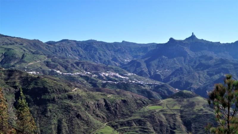 Ausblick auf den Roque Nublo