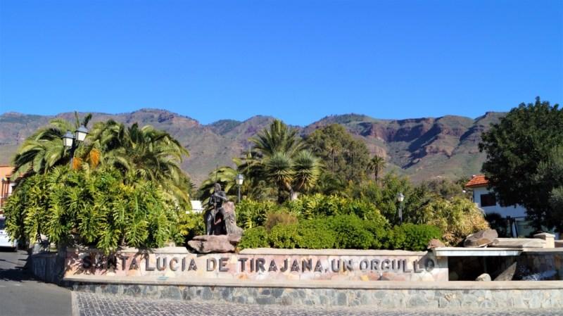 Plaza de El Paradero in Santa Lucia