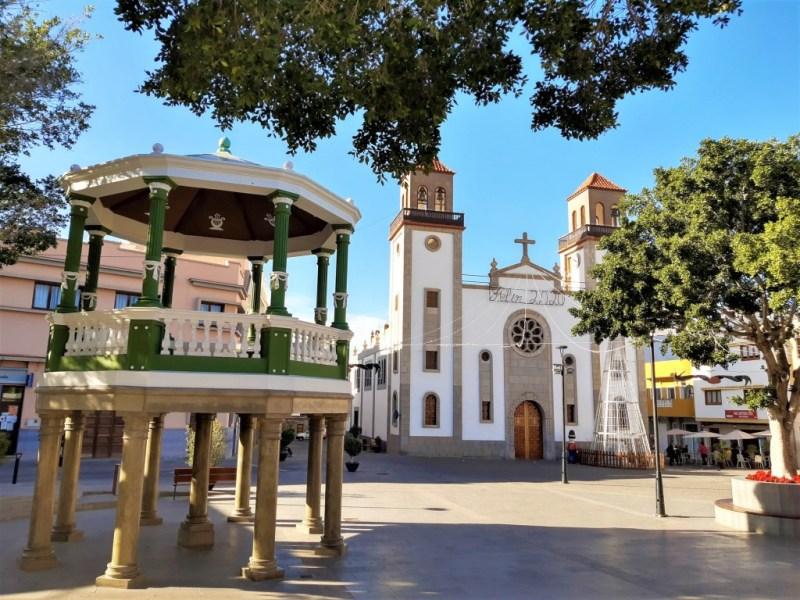 Kirche in La Aldea de San Nicolas