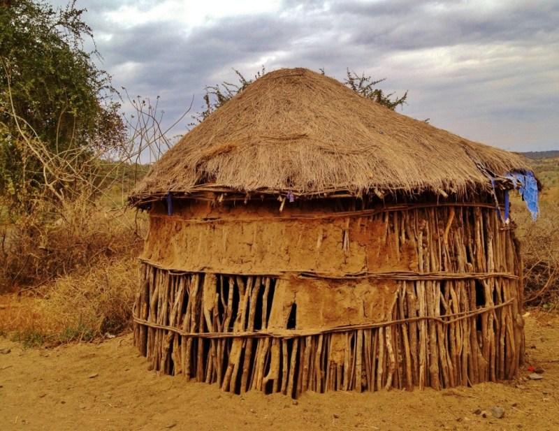 Massaiidorf in Tansania