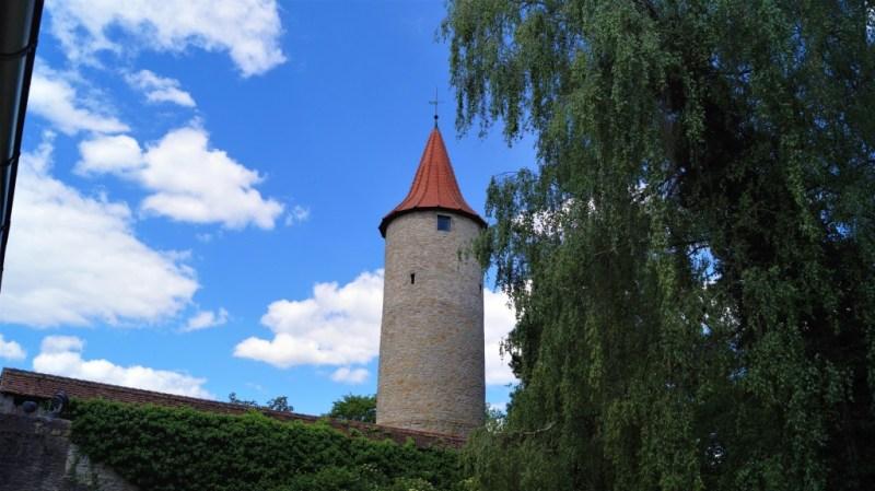 Diebsturm in Crailsheim