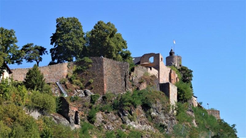 Burgruine Saarburg