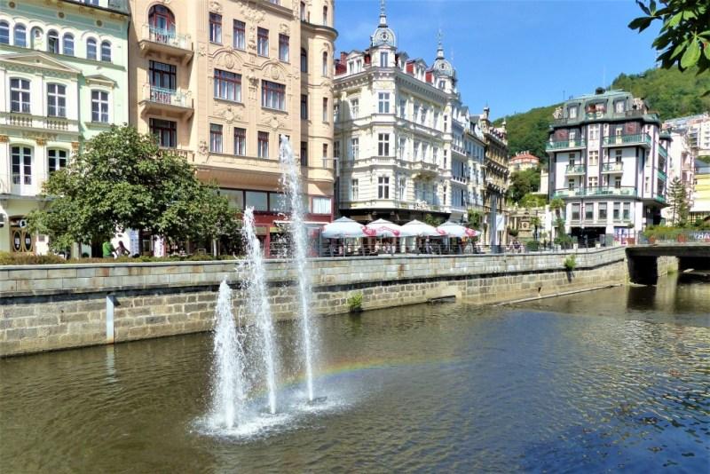 Sprudelndes Wasser in Karlsbad