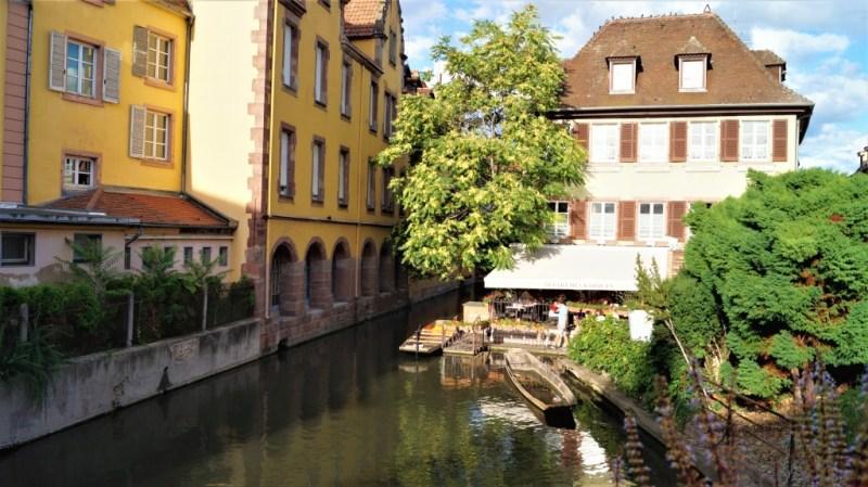 Boot fahren in Colmar