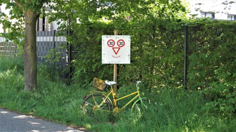Fahrrad Schild Altrip