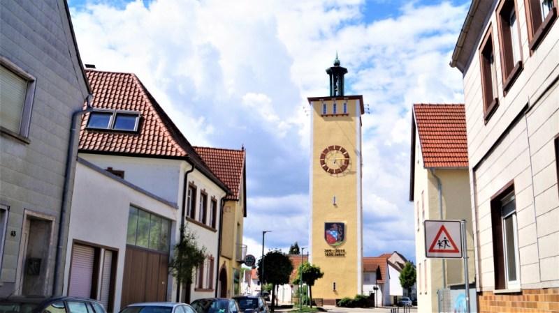 Wasserturm von Altrip