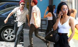 Robert-Pattinson-and-FKA-Twigz-walk-into-the-Bowery-hotel-in-NYC-Sep-2014
