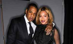 LOS ANGELES, CA - FEBRUARY 20:  In this handout provided by Tom Ford, rapper Jay Z and singer Beyonce attend the TOM FORD Autumn/Winter 2015 Womenswear Collection Presentation at Milk Studios on February 20, 2015 in Los Angeles, California. (Photo by Tom Ford via Getty Images)