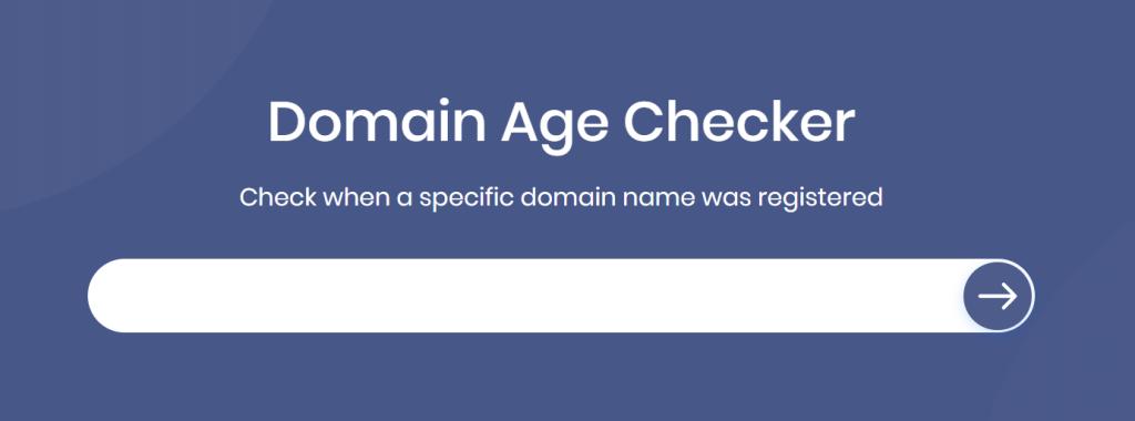 SiteChecker Domain Age Checker