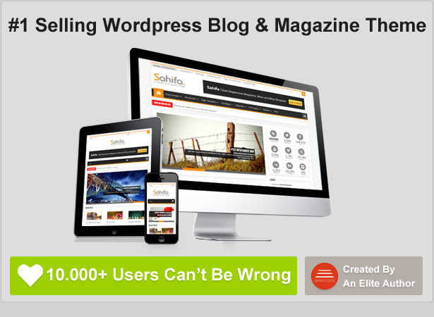 number 1 selling wordpres blog magazine theme