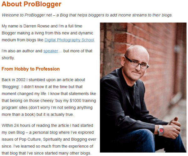 Darren Rowse - Founder of Problogger