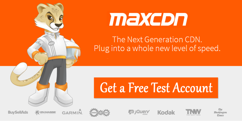 Speed Up Your Blog With MaxCDN feature