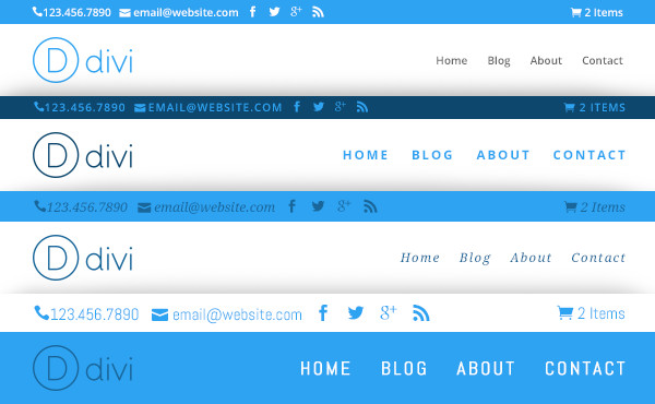 Divi WordPress theme Review Define Your Navigation Fonts, Text Sizes, and Text Styles