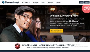 Top 10 Web Hosting Companies Dreamhost Small