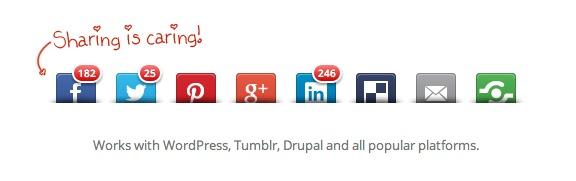 20 Best Social Media Plugins For WordPress Shareaholic