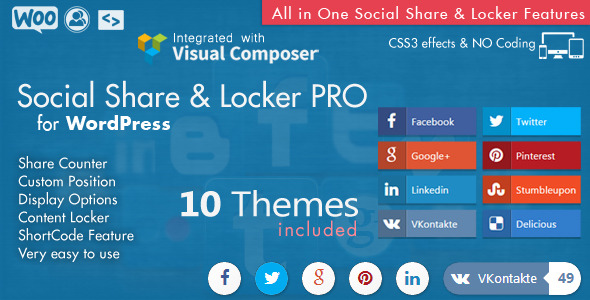 20 Best Social Media Plugins For WordPress Social Share And Locker Pro