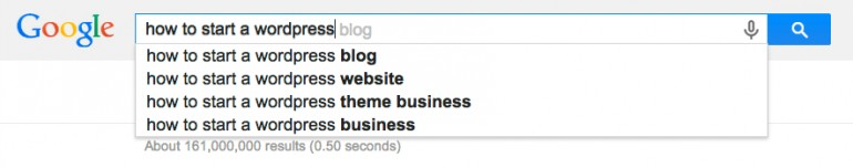 Research Around Your Keywords How to Write a Blog Post in Just 30 Minutes