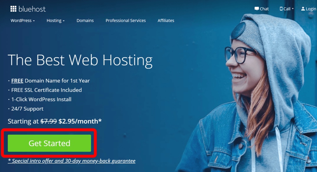 bluehost review promo home
