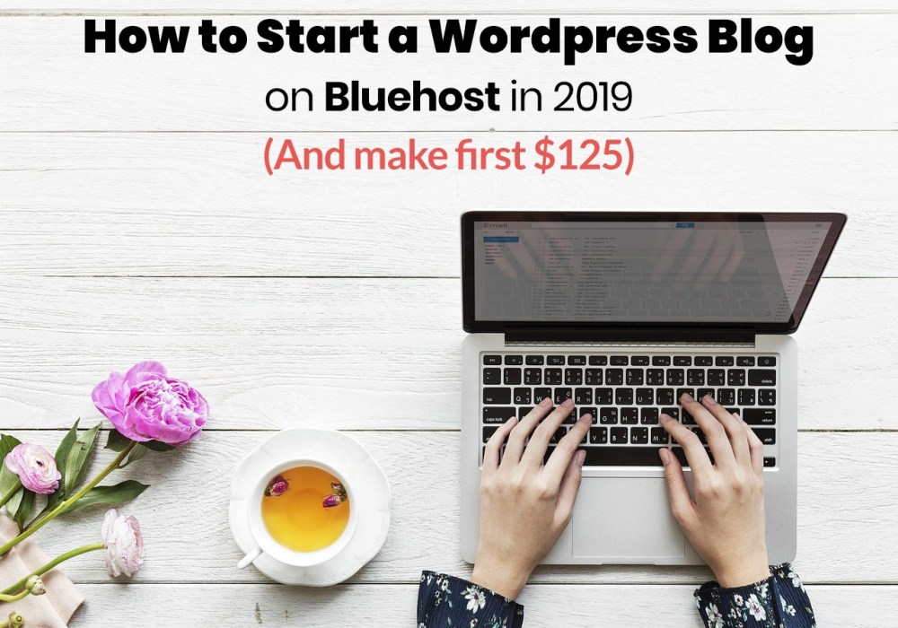 how to start a blog featured image